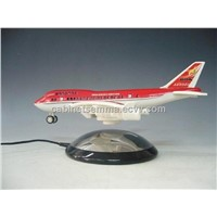 ABS Mirror Chromed Levitation Display For Airplane Model (D4R-Plane-12)