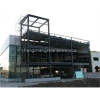 Auto industry steel structure Store 4 S workshop