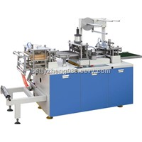 Automatic coffee therforming cup lid machine