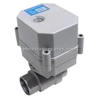 BSP/NPT 1/2'' to 1'' Stainless Steel Electric Water Valve for Water Heater Brewing Drinking Water