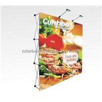 Banner wall, Fabric wall display, fabric pop up