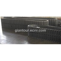 Big Rubber Tracks For Crawler Excavator