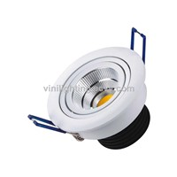 Silver cover COB 5W LED Ceiling Light