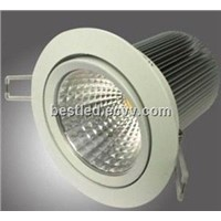 COB LED Recessed Down Light 15W