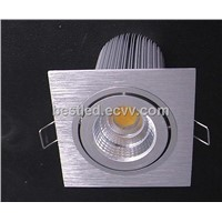 COB Squared Recessed Down Light 15W