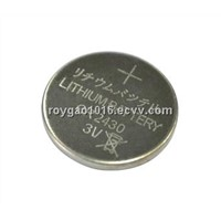 CR2430 lithium coin cell, lithium button cell, lithium battery