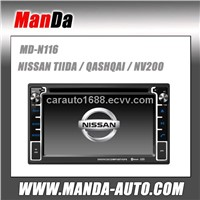 Car dvd radio gps navigation for NISSAN TIIDA / QASHQAI / NV200