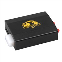 Car gps tracker tk103-2 with cut off engine/oil and 2sim card slot