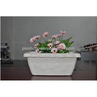 Cheap Durable Flower Large Garden Pots In 470*230*175 mm