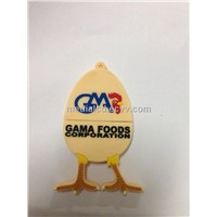 Chicken% Egg Shape Custom USB Flash Drive for Gifts USB Items