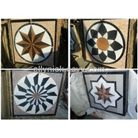 China Stone Medallion Tile Inlay | Water Jet Marble Floor Medallions