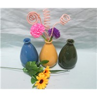 Color Glazed Ceramic Reed Diffuser, Diffuser Bottle