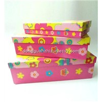 Colorful Gift box with beautiful pattern