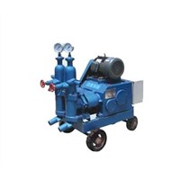 Double liquid piston mortar pump
