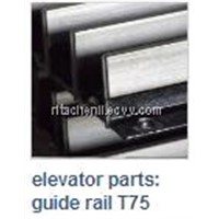 ELEVATOR PARTS GUIDE RAIL