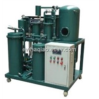 Environment-friendly vacuum lube oil filtering machine for dewatering, degasify