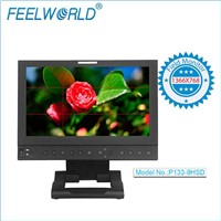 Feelworld 13.3'' Professional Broadcast Monitor with 3G/HD/SD-SDI Input Output for studio