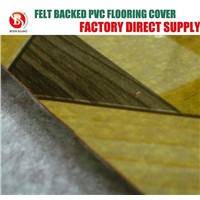 Felt fabric Backing PVC flooring cover