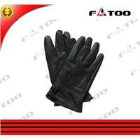 Full Finger Cheap Leather Colored Motorcycle Riding Gloves of Motorbike Accessories