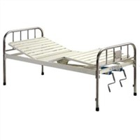 Full-Fowler Hospital Bed with Stainless Steel Headboards (B-29)