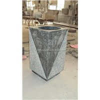 Granite Stone Pedestal Sink