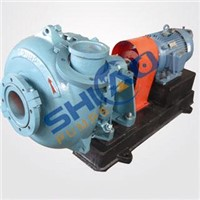 Gravel slurry pump for river dredging