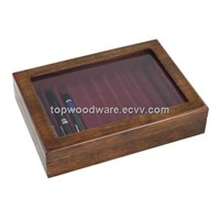 HIGH GLOSS FINISH WOODEN PEN BOX