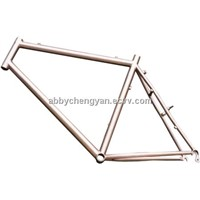 HOT!! Titanium bicycle frame