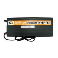 High-efficiency 12V DC to 220V AC Real 3,000W UPS Inverter with Low-interference, CE and RoHS Marks