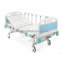 Hospital Furniture RF-252  Manual One-crank Care Bed