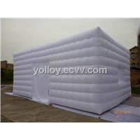Inflatable Outdoor Tent Buildings and Emergency Shelters White Tent Portable Easy Set up Tent
