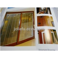 JN148 Sliding Door with Automatic Shutter