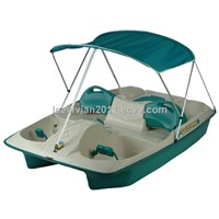 KL Industries Aqua Sun Slider Paddle Boat with Canopy