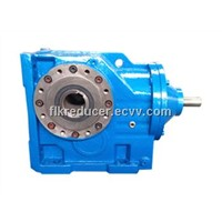 K series Helical Bevel Geared Motor/Gearbox reducer