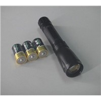 LED Torch Light CREE T6 Sliding ZOOM Aluminum 500lumen high power Flashlights