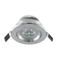 LED downlight 3W for jewelry counter lighting