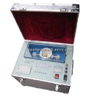 Low cost portable transformer oil tester to test dielectric strength, meet IEC156, fully automatic