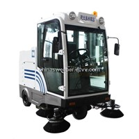 MN-E800LD    New type all closed self-discharging sweeper