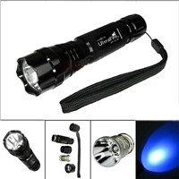 Manufacturer 240lm Cree Q5 UV LED UV Strobe Light