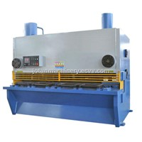 Metal guillotine shear cutting machine 6mm