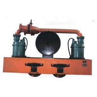 Mine mobile emergency drainage device