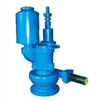 Mine pneumatic gear submersible pump