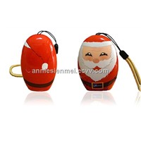 Mini Christmas Power Bank 5600mAh Portable Charger & iPhone & Mobile with Real Capacity (SPB033)