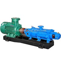 Multistage centrifugal self balancing pump for mining