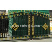 Nice Design Balck Colour Residential Site Gate