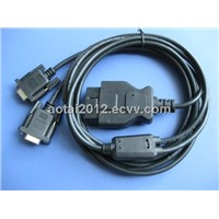 OBD Manufacture OBD2 to COM Cable,RS232 Cable,OBD to DB9/DB15/DB25 CABLE