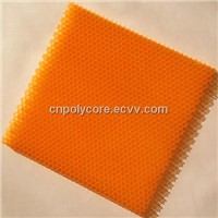 PC Honeycomb 6.0 Waterproof Light Weight Stiffness Strength Polycarbonate Honeycomb Core & Honeycomb Sheet