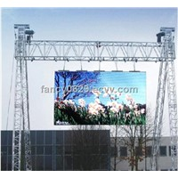 PH10mm full color led display screnn for outdoor , IP65 waterproof