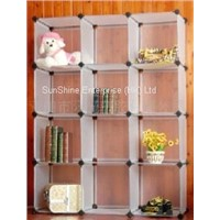 plastic PP household diy storage shelf shoe rack
