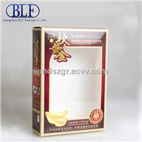 Paper box with PVC window (BLF-PBO002)